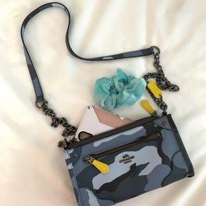 Coach Blue Camo Handbag
